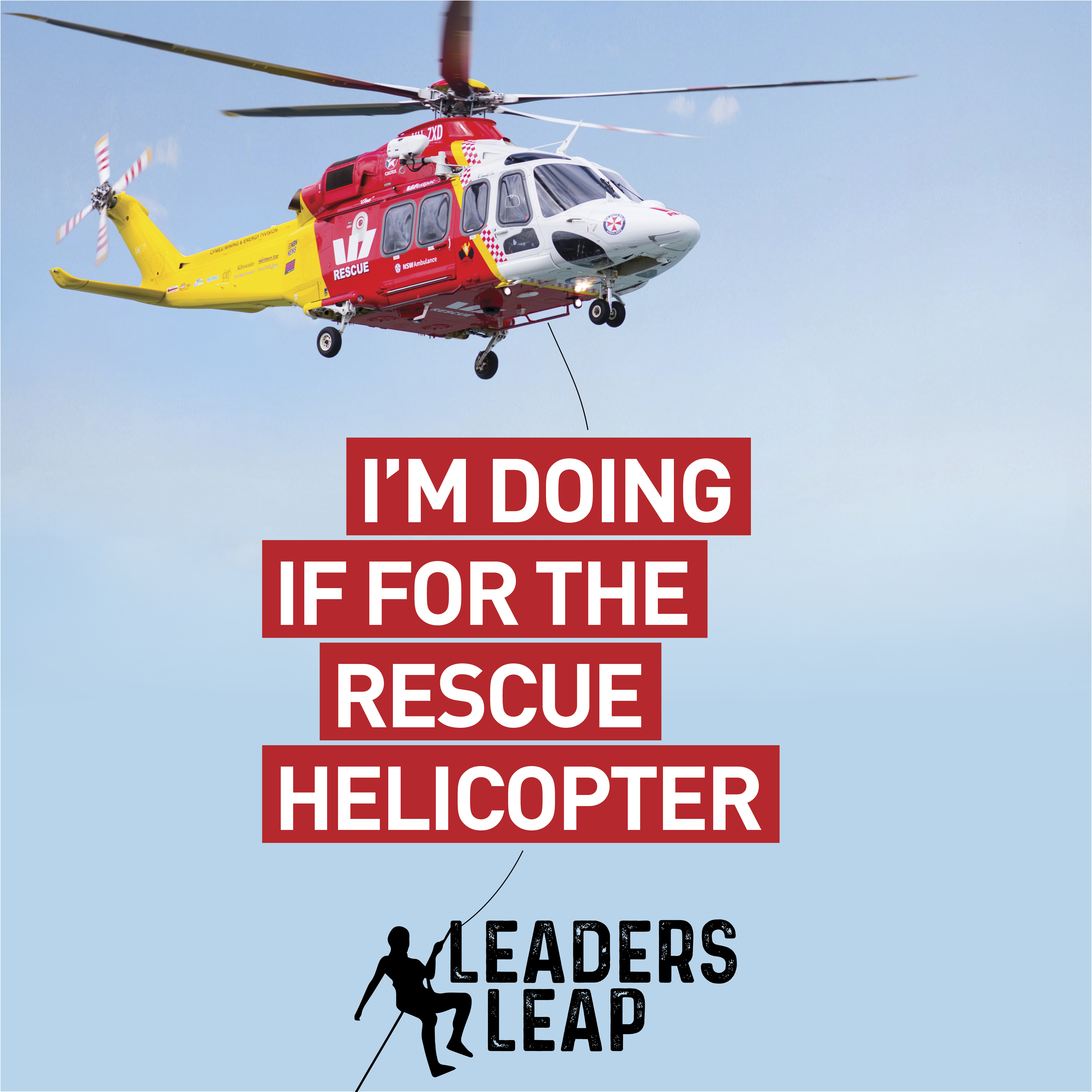 LeadersLeap Doing It for the Chopper BlueSky Social Tile
