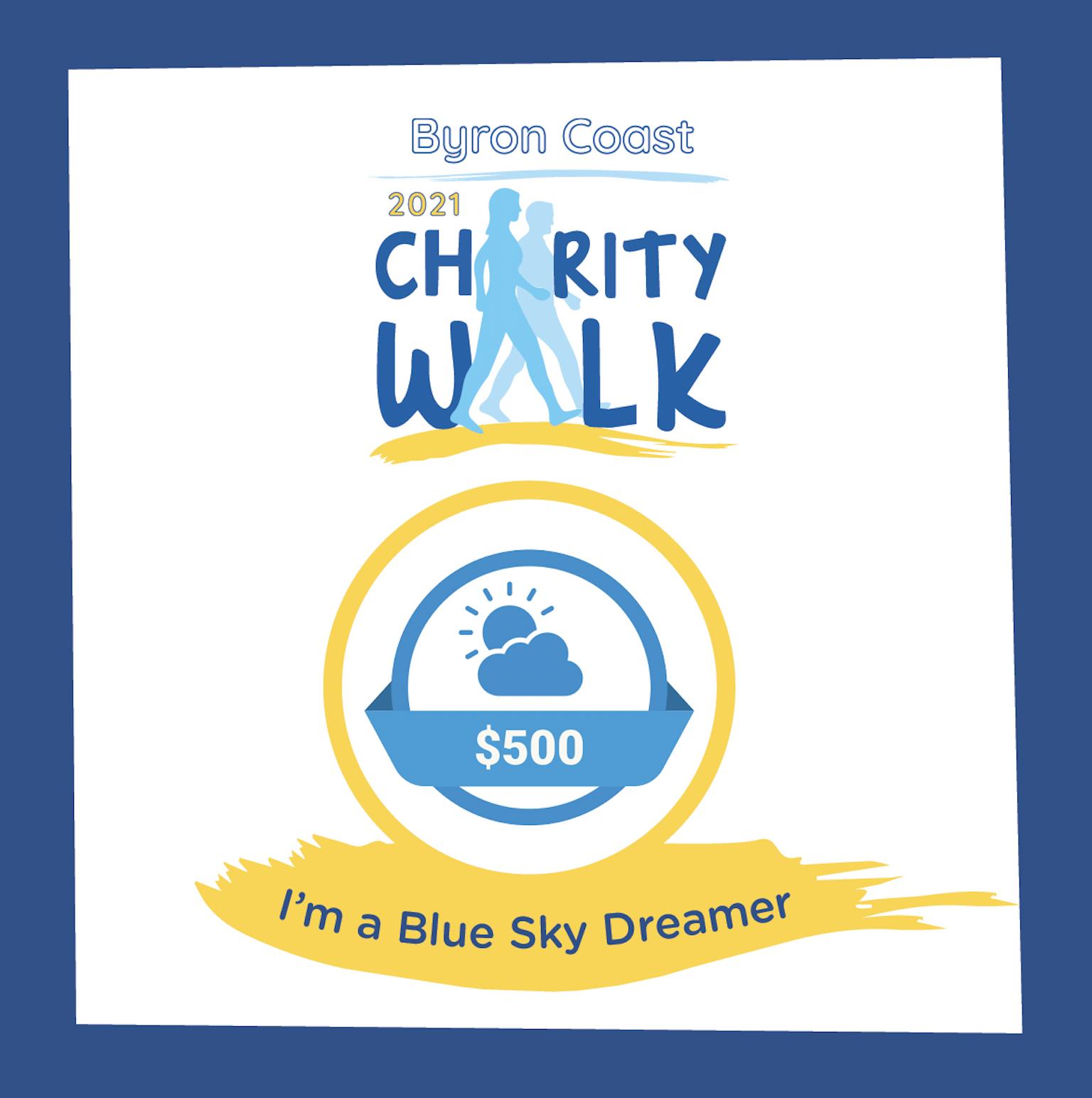 Milestone $500 Blue Sky Dreamer