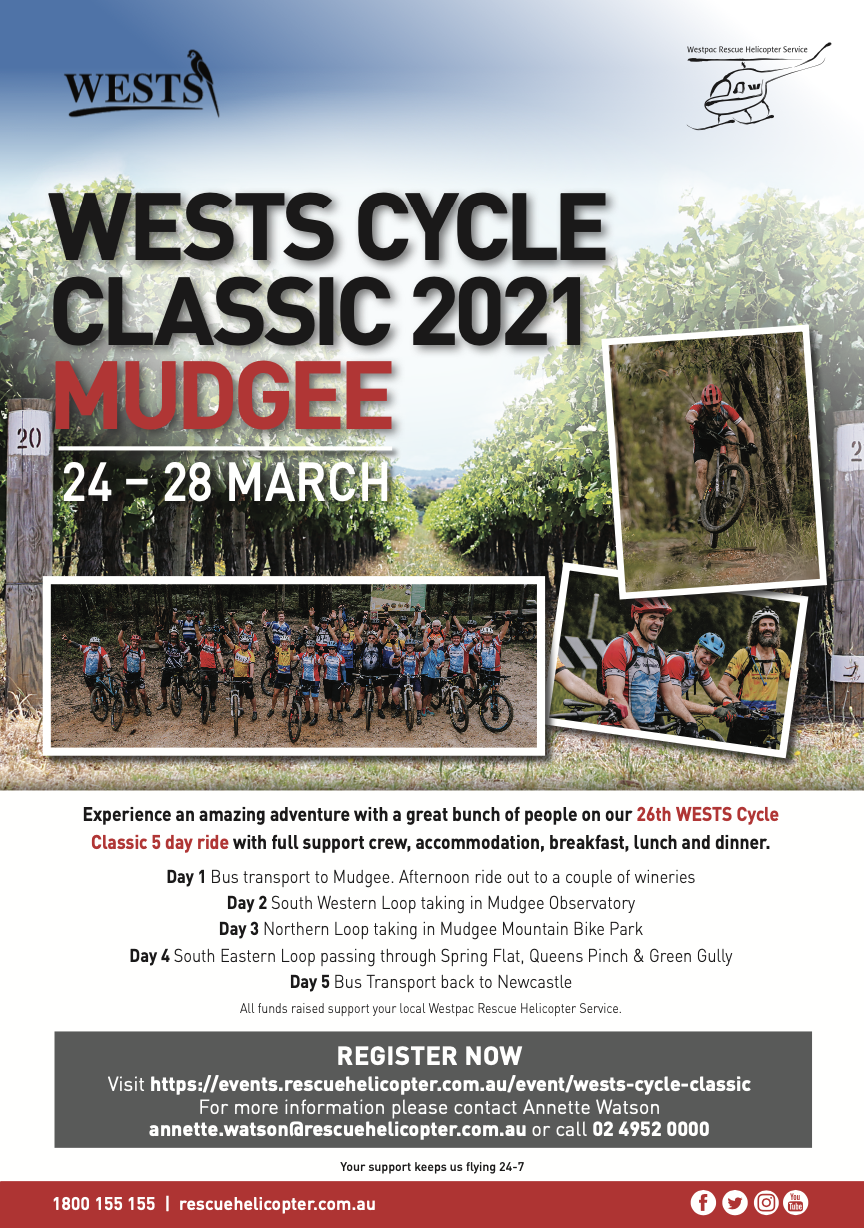 West's Cycle Classic A5 Poster