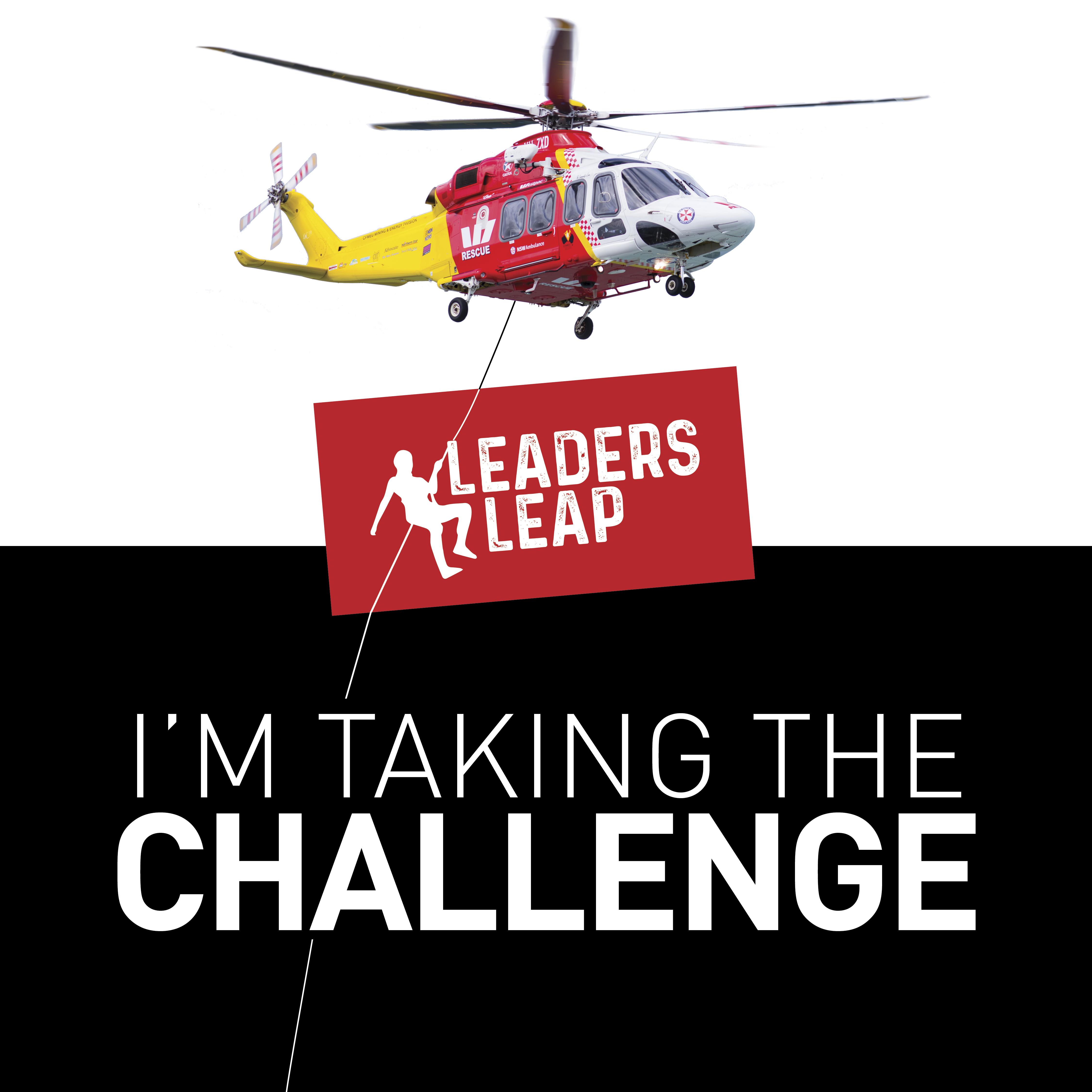 LeadersLeap Challenge AW139 Social Tile