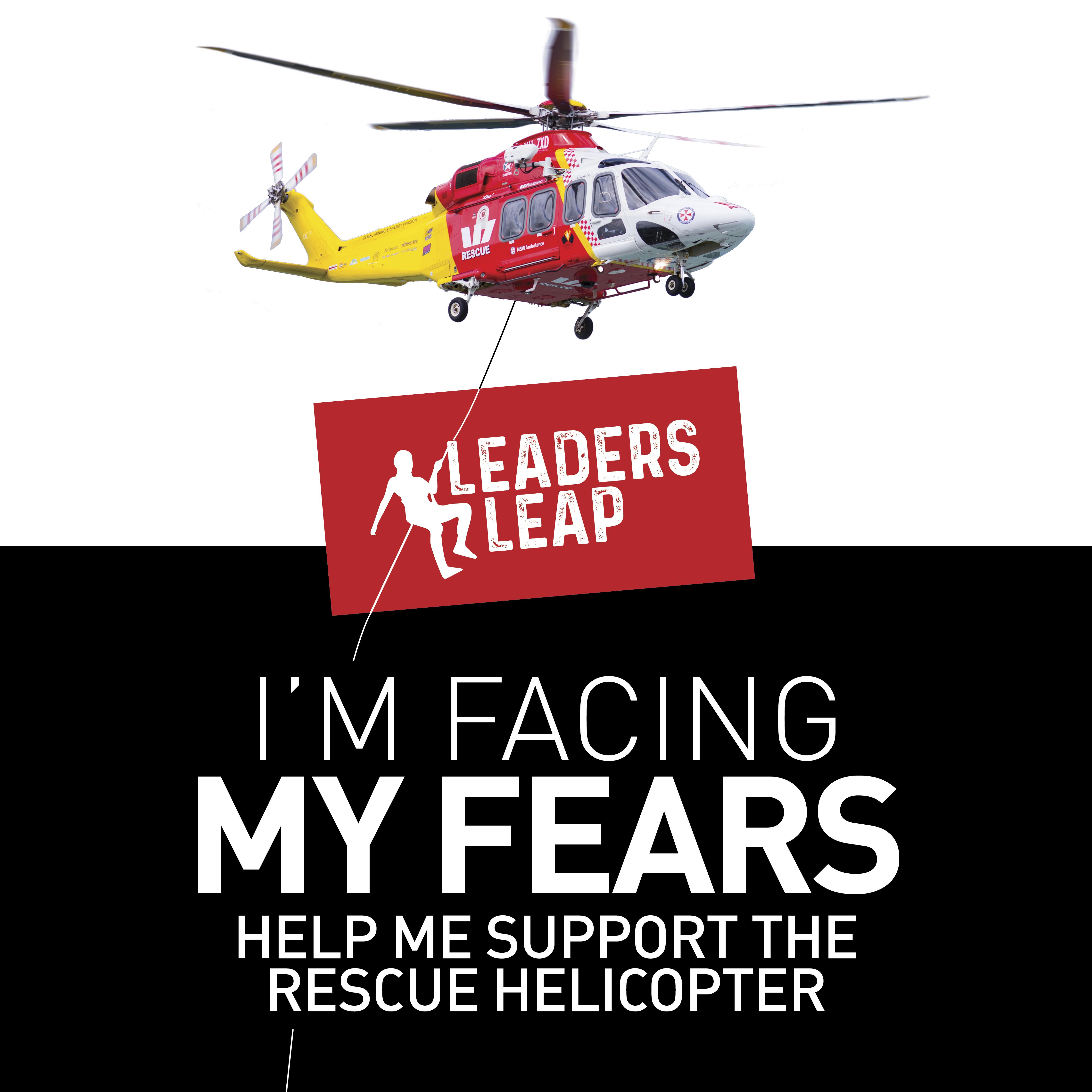 LeadersLeap Facing Fears AW139 Social Tile