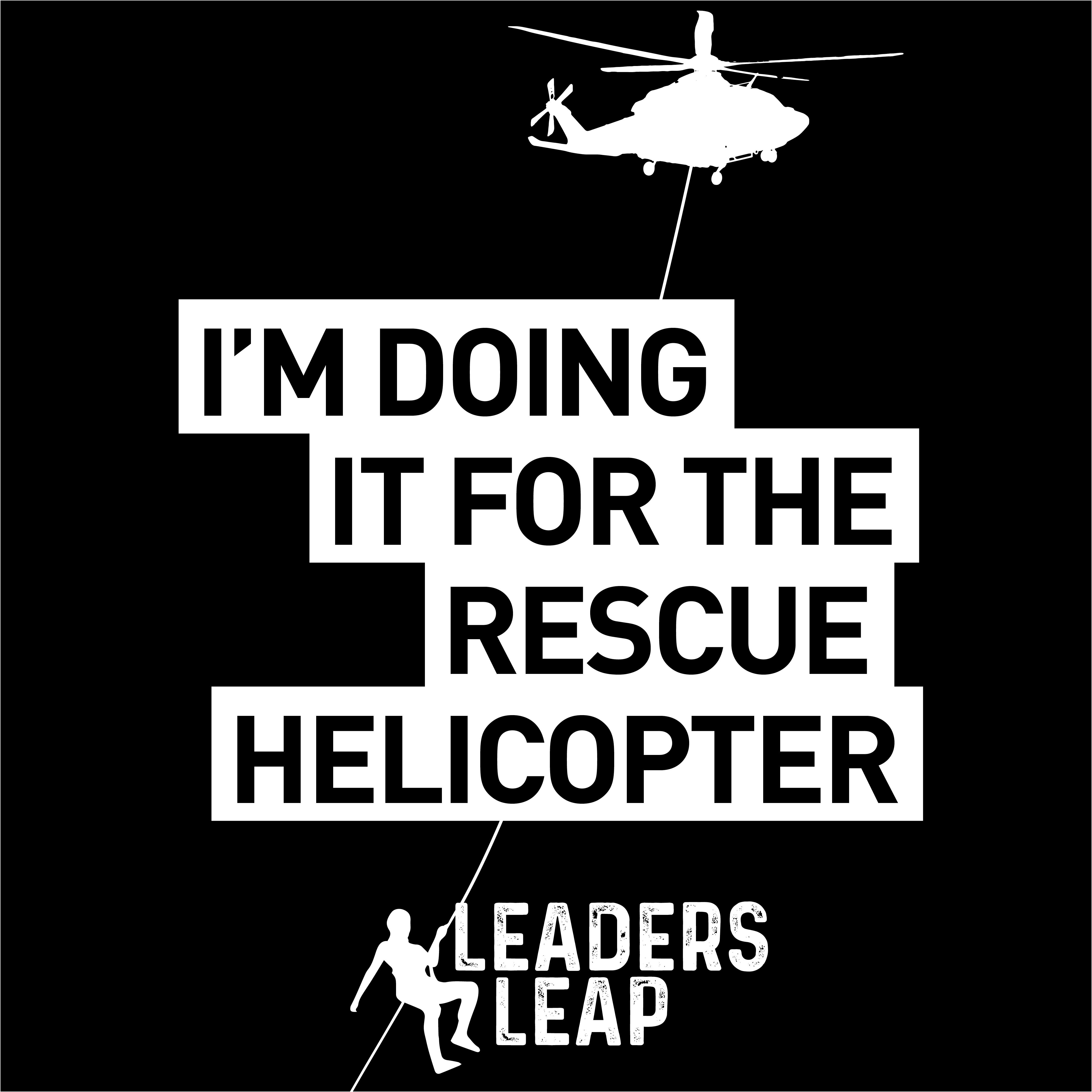 Leaders Leap Doing It for the Chopper Social Tile