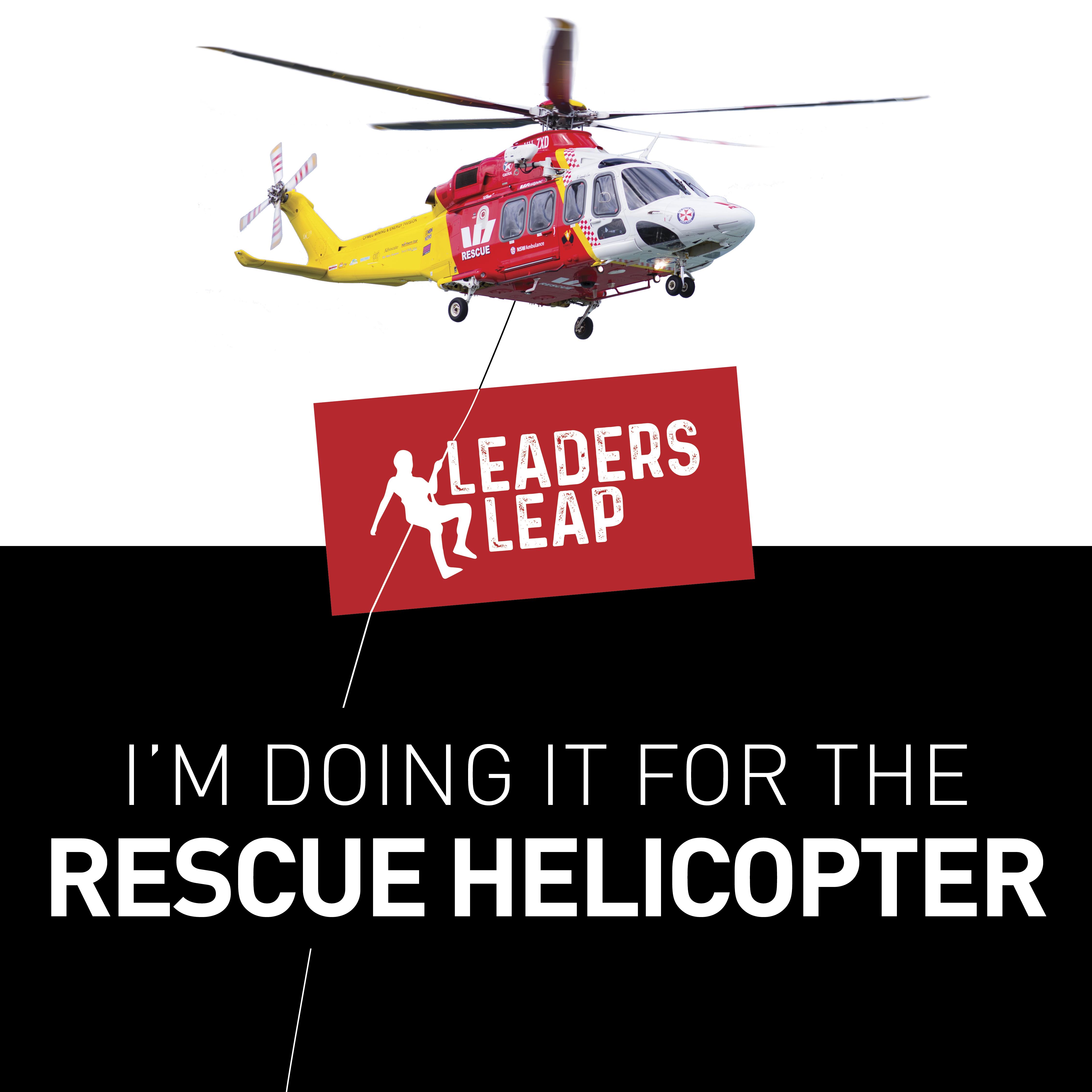 LeadersLeap Doing it for the Chopper AW139 Social Tile