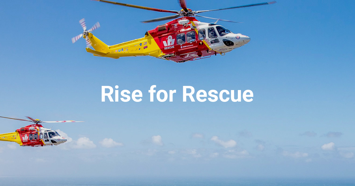 Rise For Rescue Poster